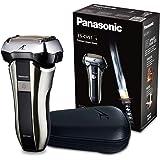 Panasonic 松下ES-CV51-S803耐用型剃须刀非常适合旅行,5个剃须单元,干湿剃须,包括旅行套