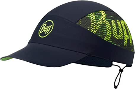 Buff 百福 R-Flash Logo Pack Run 运动帽子 带图案装饰,深蓝绿色,均码