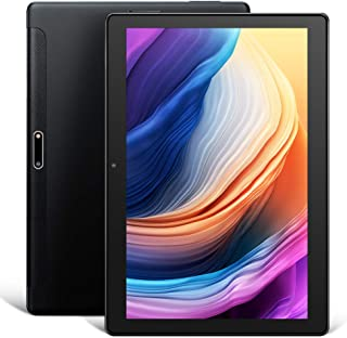 Dragon Touch Max10平板电脑,安卓9.0Pie,八核处理器,10英寸Android平板电脑,32GB存储,1200x1920 IPS HD G+G显示屏,5G Wi-Fi,USB Type C端口,金属机身 黑色 3GB RAM+32GB ROM