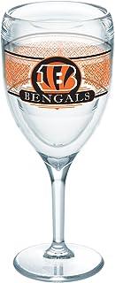 Tervis 1227705 NFL 辛辛那提猛虎队精选玻璃杯 带包装 236.56 毫升*杯,透明