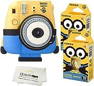 Fujifilm Minion 相机 + Fuji Minion 胶片 + 优质照片超细纤维布