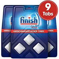 Finish 洗碗机清洁片,清洁剂,3包(3 x 3件)