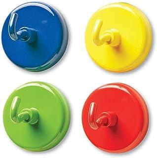 Learning Resources 强磁性挂钩,一组4个,多种颜色,直径1.5英寸/约3.81厘米
