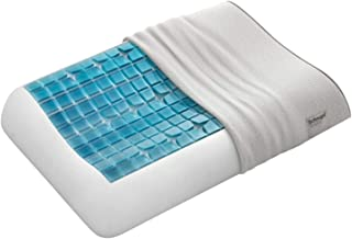 Technogel 舒适弧度凝胶枕 66x42x13cm,57,聚酯纤维,41%莫代尔纤维,1.5%弹性纤维,白色