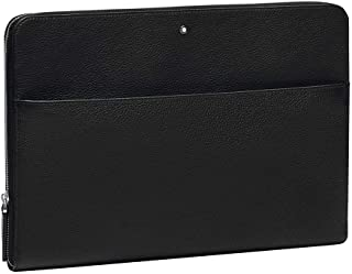 Montblanc Meisterstück 軟粒面斜挎包,34 厘米,黑色(石英色)