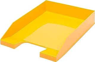 A4 可堆叠字母托盘 - 基本黄色 - 4 件装