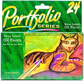 Crayola 绘儿乐 24色水溶性油画棒52-3624