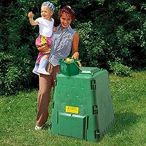 AeroQuick 77 加仑再生塑料堆肥箱 绿色 AQ77