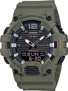 CASIO 卡西欧 男士 模拟 - 数字石英手表 树脂手链 HDC-700-3A2VEF