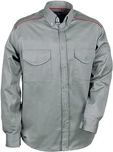 Cofra V028-0-02.Z/6 衬衫宽松尺码,灰色,Xxl