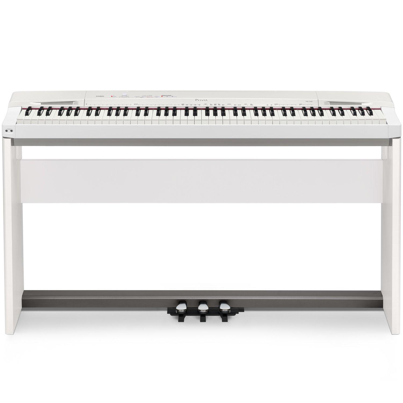 Casio 卡西欧 PX-160WE Privia系列88键数码钢琴套装 包含(琴架、三踏板)
