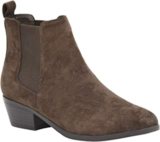 Dunes 女士 Jagger Chelsea 短靴 + 宽