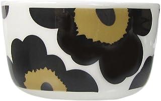 marimekko UNIKKO 小碗 白色×黑色 10cm 250ml 63432 030 【平行进口】 63432 030