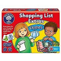 Orchard Toys 桌面游戏 额外的购物清单-衣服(亚马逊进口直采,英国品牌)