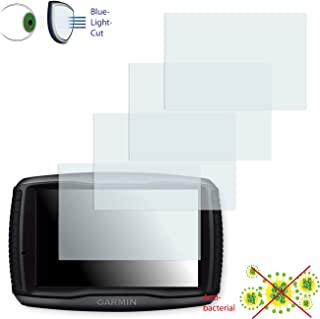 DISAGU 4x ClearScreen 覆盖屏幕保护膜适用于 Garmin zümo 595L - *蓝光切割过滤器保护膜
