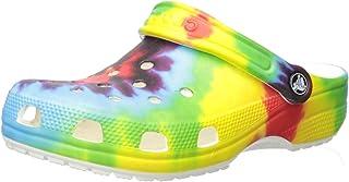 Crocs 卡骆驰儿童经典扎染图案洞鞋