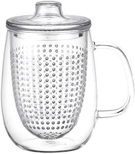 KINTO unimug 杯玻璃茶壶带滤网茶杯