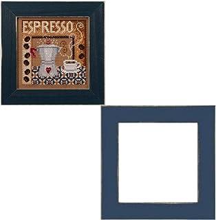Mill Hill Espresso 十字绣套件带框架套装,MH142024 和 GBFRM2