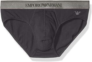 Emporio Armani 安普里奥·阿玛尼男式闪亮标志内裤