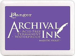 Ranger 特大号档案印台 Majestic 紫罗兰 大号