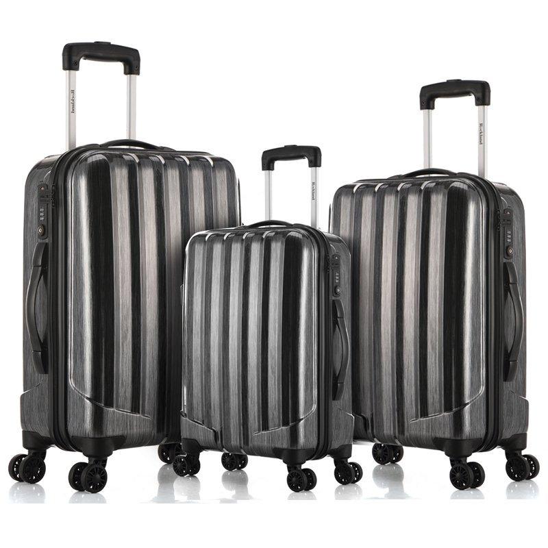 限Prime会员&试用会员!Rockland洛克兰拉杆旅行箱套装CF185S升级款星河黑20+24+28寸