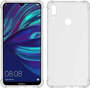 TIYA Case Clear 小收纳袋 黑色 Huawei Y7 Prime 2019