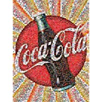 Buffalo Games Coca-Cola: Photomosaic - 1000 Piece Jigsaw Puzzle by Buffalo Games
