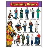 TREND enterprises, Inc. Community Helpers 学习图表,43.18 厘米 x 55.88 厘米