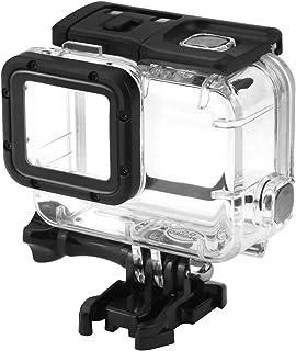 Rofusn 45M 防水外殼適用于 GoPro 水下潛水保護外殼,適用于 Go Pro Hero7 Hero6 Hero5 Hero 2018 活動攝像機,帶支架配件