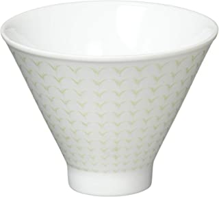 YAMAYA 茶白 朝颜形煎茶碗 玉露淡绿 35171430