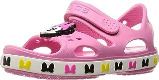 Crocs 卡骆驰 Crocs 风扇 爱乐 Crocband 迪士尼 米妮凉鞋儿童 206170