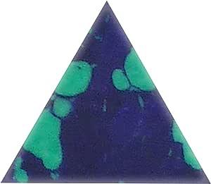 Incudo Precision IP001787 10 毫米三角镶嵌 - Azurite Malachite(10 件装)