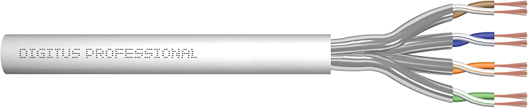 """DIGITUS Professional DK-1613-A-P-1""""CAT 6A U/UTP"""" 雙絞線電纜灰色DK-1623-A-P-1 CAT 6A U-FTP 100 m"""