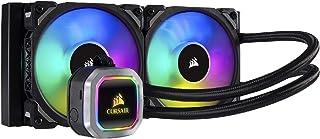 CORSAIR 海盗船 H100i RGB PLATINUM AIO液体CPU散热器,240毫米,双ML120 PRO RGB PWM风扇,Intel 115x / 2066,AMD AM4 / TR4