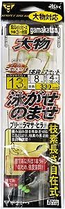 嘉年华(Gamakatsu) 大物游泳汽水产褥 FD119 13号-海丽 8