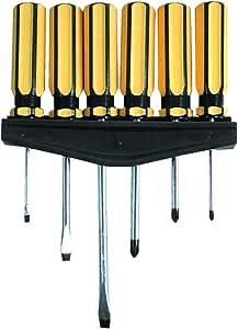 Kippen 1060 螺丝刀,黑色/黄色,6 件套