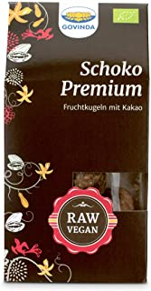 Govinda Schoko-Premium-Kugeln, 3er Pack (3 x 120 g Karton) - Bio