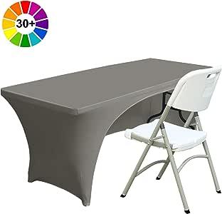 & # xff08;30+ 颜色和 # xff09; abccanopy 桌布91cm 。 修身聚酯桌布弹力氨纶桌布
