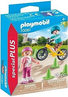 Playmobil 70061 Special Plus 儿童滑板和宝马 多色