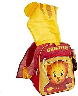 Daniel Tiger 丹尼尔老虎 Neighborhood 儿童背包,带可穿戴兜帽 - 14 英寸(约 35.6 厘米)