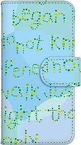 智能手机壳 手册式 对应全部机型 印刷手册 cw-099top 套 手册 文字 UV印刷 壳WN-PR058105-ML AQUOS Xx 304SH 图案D