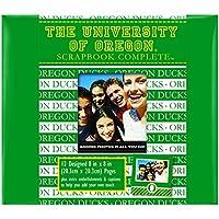 C.R. Gibson Scrapbook Complete Kit, Small, Oregon Ducks (C878310M)