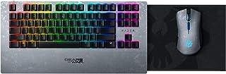 Razer Turret 无线机械游戏键盘和鼠标组合,适用于 PC 和 Xbox One:Chroma RGB/动态照明 - 可伸缩磁性鼠标垫 - 40 小时电池 - Gears of WAR 5 版