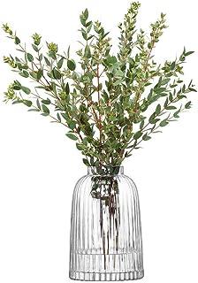 LSA International PT01 百褶花瓶,H 20cm,透明