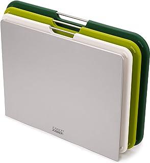 Joseph Joseph 砧板套装 切割板套装,巢板 ,大号,绿色,60164