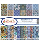 "Ella & Viv Collection Kit 12""X12""-Spice Market"