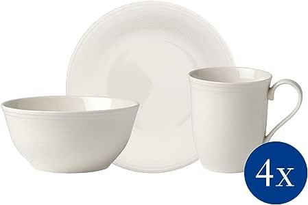 类似 Villeroy & Boch group 19-5280-9029 彩色环形 Hori。 早餐套装 12 件优质瓷器 12tlg. 19-5284-9029