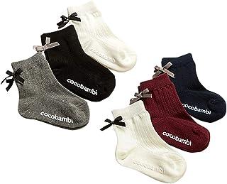 Filloie 菲罗瓦 6双装 儿童 儿童 袜子 圆筒裤 带丝带 防滑 记名空间 88-65-1160m 白色 9~14cm