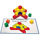 Learning Resources 创意彩色方块 精细运动技能 数数技能 基础数学 100块 3岁以上