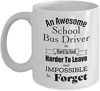 校车司机退休礼物 - 有趣的恶作剧退休咖啡杯 退休 适用于退休女性、男性、老人、同事、朋友、爸、妈 - 退休咖啡杯 白色 11oz GB-2736551-20-White